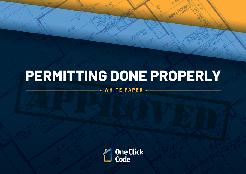 Permitting Done Properly