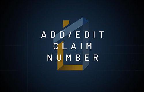 modify-claim-number